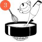 Рецепты шефов: Мороженое счаем матча, с малиной исмоцареллой и базиликом. Изображение № 6.