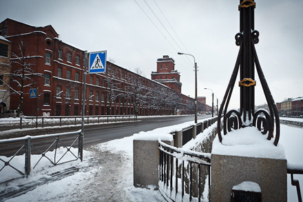 Группа «Фабрика»: Гид по арт–пространствам Обводного канала. Изображение № 114.