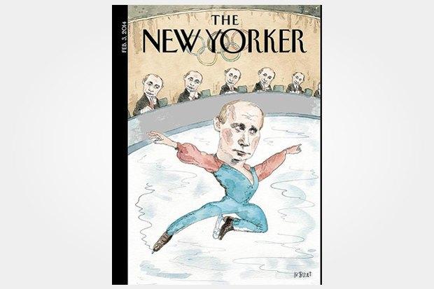 Олимпиада в Сочи на обложках зарубежных изданий. Изображение № 1.
