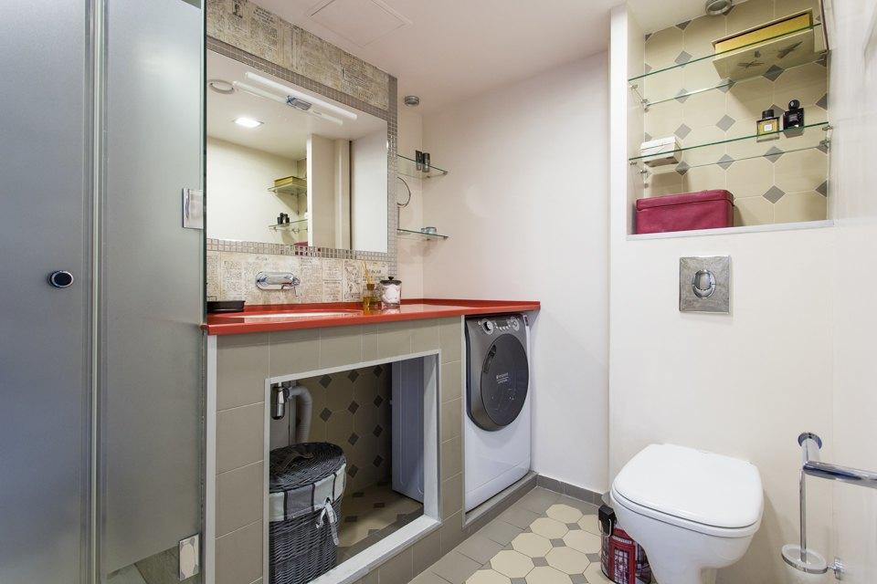 Двухуровневый лофт для семьи изтрёх человек. Изображение № 14.