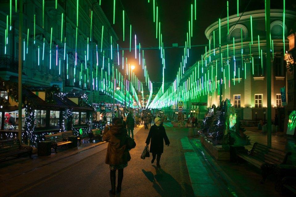 Как украсили Москву кНовому году. Изображение № 20.