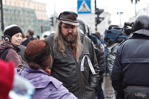 Фоторепортаж: Митинг против фальсификации выборов в Петербурге. Изображение № 2.