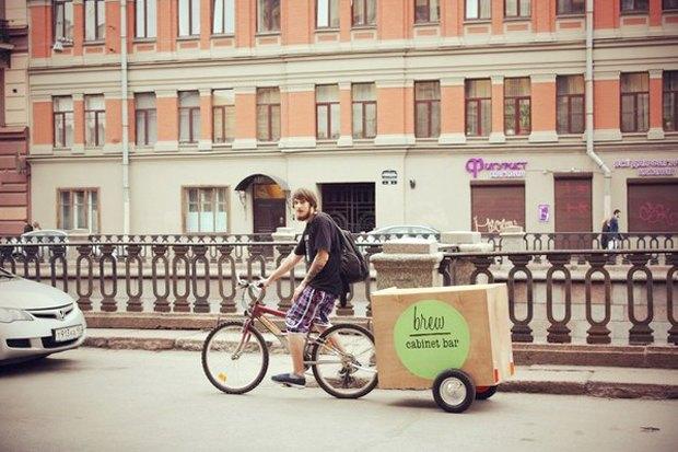 Личный опыт: Как превратить велосипед вкофейню наколёсах. Изображение № 4.
