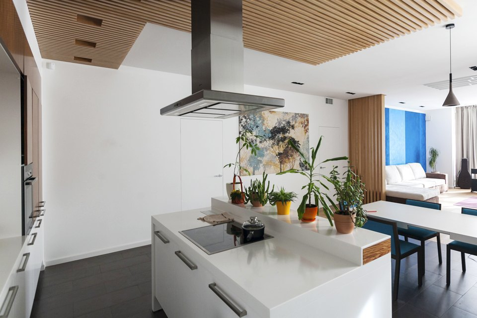 Трёхкомнатная квартира сотделкой изнатуральных материалов . Изображение № 13.