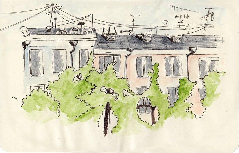 Клуб рисовальщиков: Патриаршие пруды. Изображение № 3.