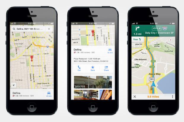 Карты Google вернулись на iPhone. Изображение № 1.