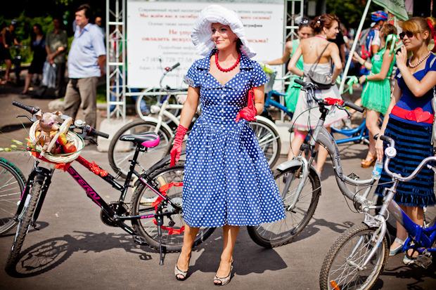 Люди в городе: Участницы парада «Леди на велосипеде». Изображение № 15.