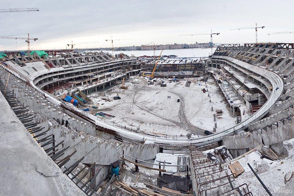 Фоторепортаж: Стадион «Зенит-Арена» изнутри. Изображение № 3.