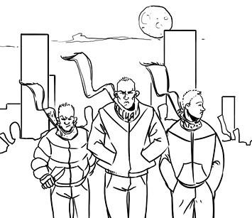 Хранители: Городские супергерои и антигерои. Изображение № 7.