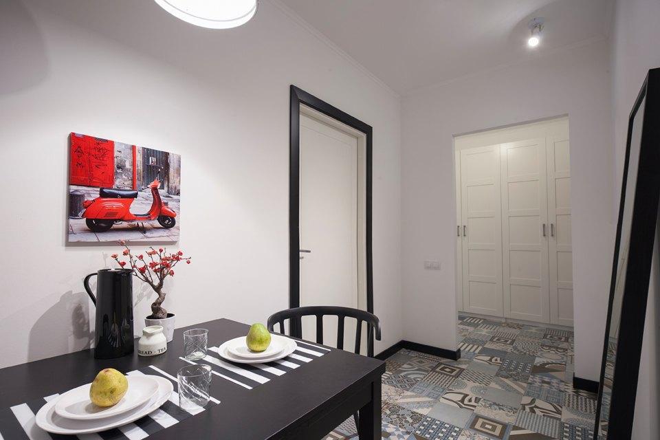 Квартира всветлых тонах для брата исестры. Изображение № 4.