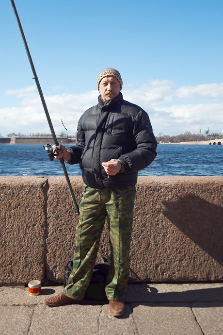 Люди в городе: Рыбаки Петербурга. Изображение № 23.