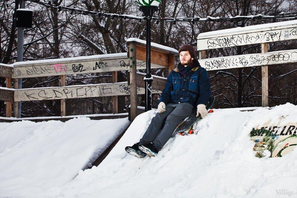 Люди в городе: Где катаются скейтеры зимой. Изображение № 5.