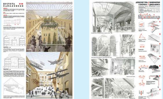 Теория вероятности: 4 проекта реконструкции Политехнического музея. Изображение № 11.