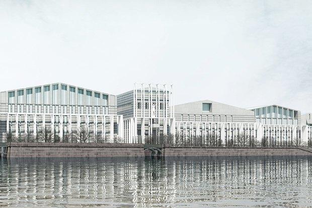 Суд идёт: четыре проекта квартала на месте «Набережной Европы». Изображение № 20.