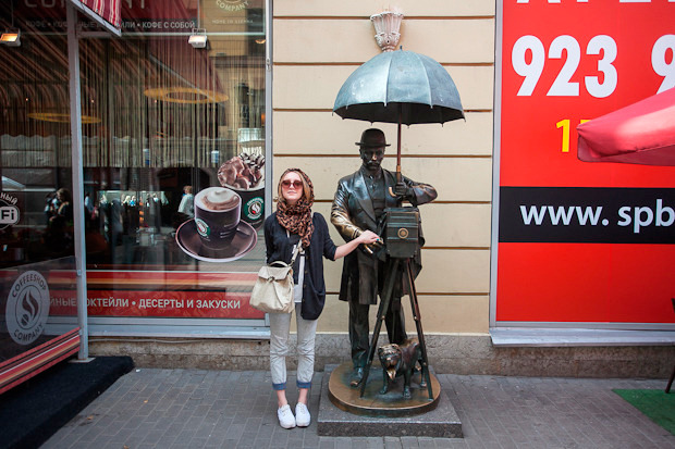 Эксперимент The Village: Самые популярные места для фотографий из Петербурга. Изображение № 2.
