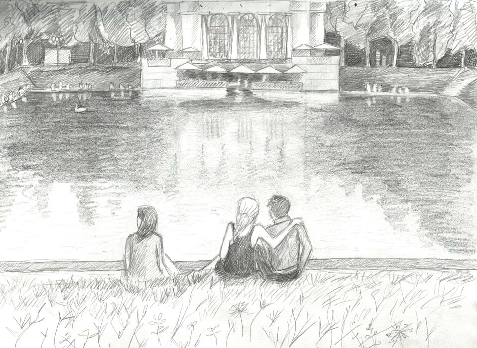 Клуб рисовальщиков: Патриаршие пруды. Изображение № 6.