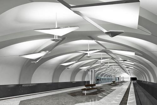 Изображение 3. Станцию «Новокосино» откроют в сентябре 2012 года.. Изображение № 3.