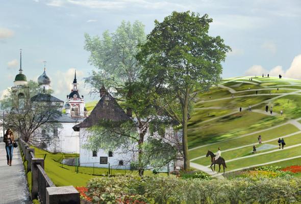 Москомархитектура выбрала 118 проектов парка в Зарядье. Изображение № 37.