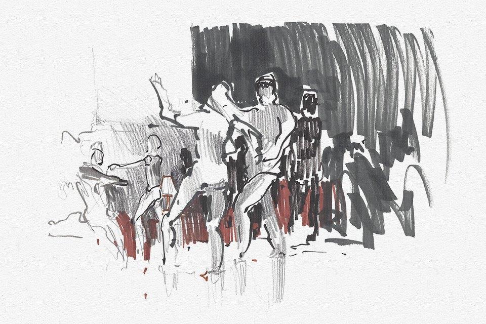 Вечеринка танцев хастл. Изображение № 1.