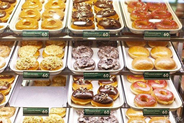 Саша Боярская опончиковой Krispy Kreme. Изображение № 10.