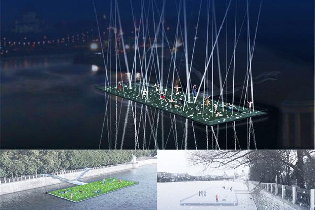 Берега-утопии: Какой могла бы быть Москва-река. Изображение № 1.