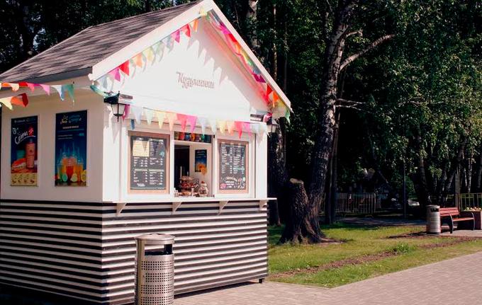 В парке «Кузьминки» открылась кофейня Coffee andtheCity. Изображение № 1.