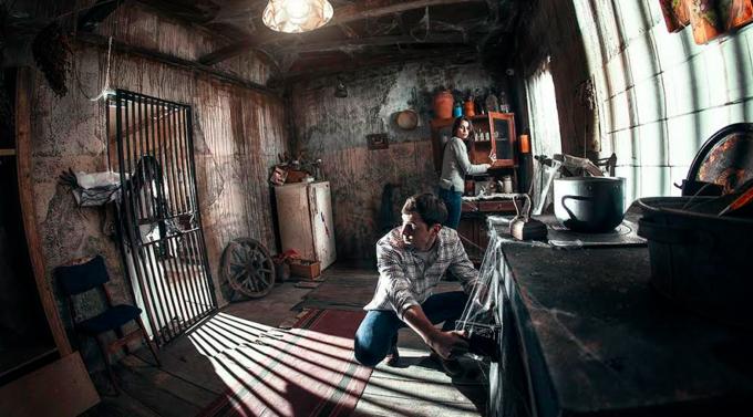В Москве появился квест-перформанс сактёрами «Заброшенный дом». Изображение № 1.