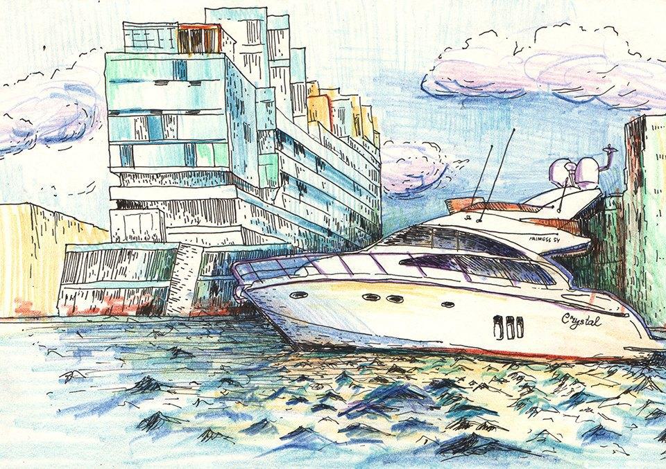 Яхт-клуб. Изображение № 2.