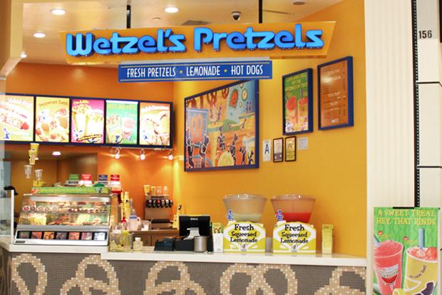 В Москве открывается американская сеть крендельных Wetzel's Pretzels. Изображение № 1.