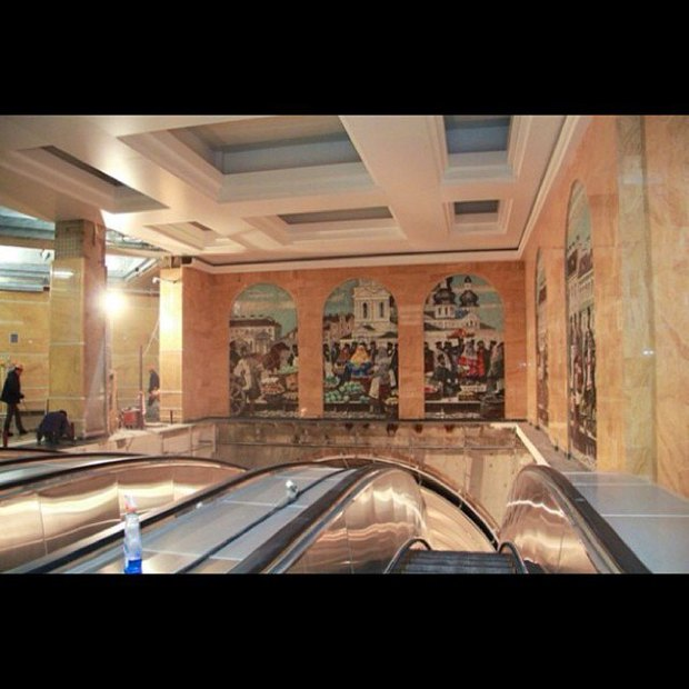 Завтра откроется наземный вестибюль «Спасской». Изображение № 3.