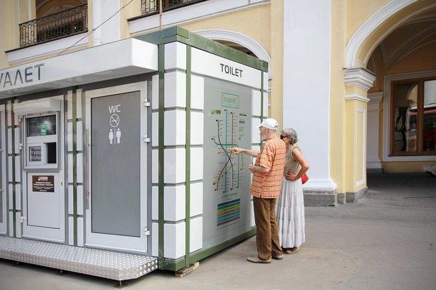 Общественный туалет повышенной комфортности наДумской. Изображение № 2.