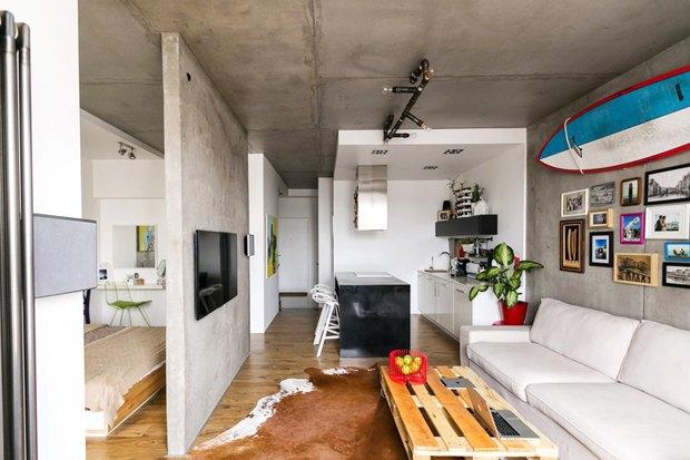 Как большой семье обустроить маленькую квартиру. Изображение № 1.