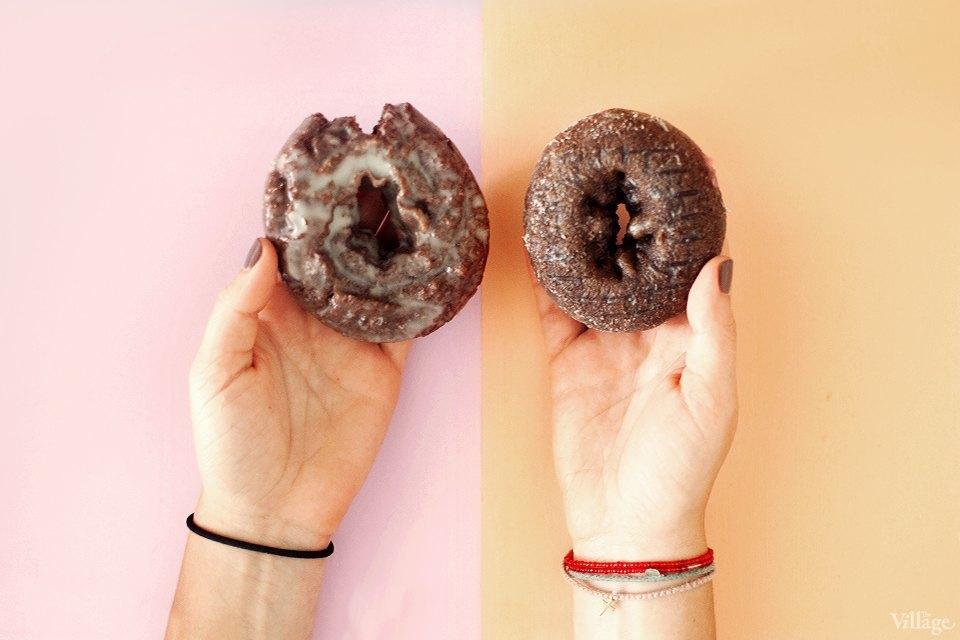 Шоколадные кейк-пончики. Изображение № 3.