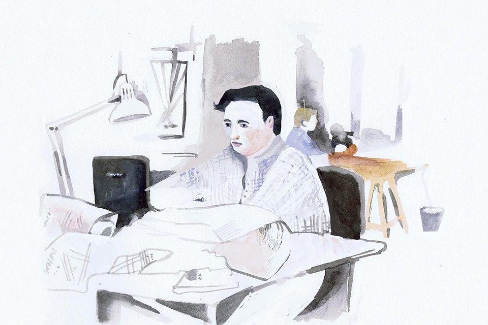 Московские офисы врисунках Лизы Смирновой. Изображение № 15.