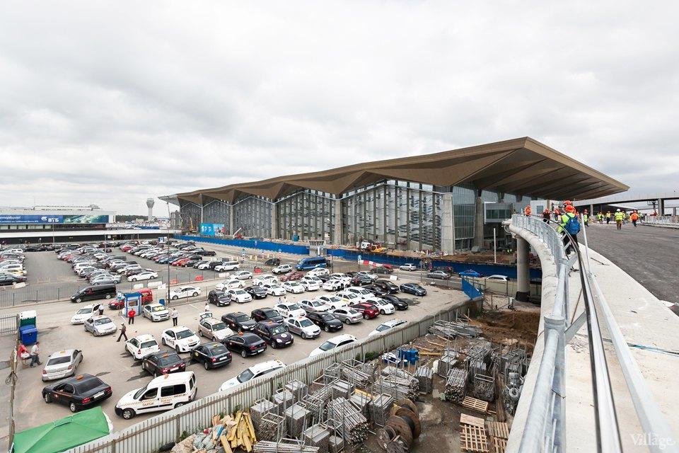 Фоторепортаж: Новый аэропорт изнутри. Изображение № 1.