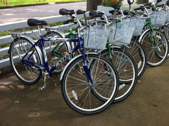 Прокат городского велосипеда — 150 руб. в час. В залог можно оставить 1500 руб. или паспортные данные. Изображение № 16.