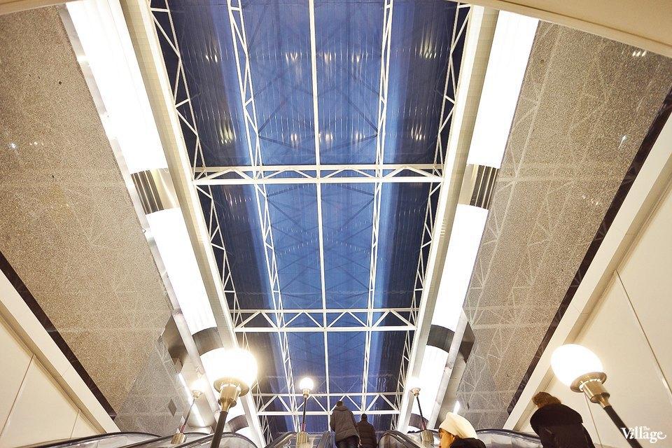 Фоторепортаж: Станции метро «Международная» и«Бухарестская» изнутри. Изображение № 5.