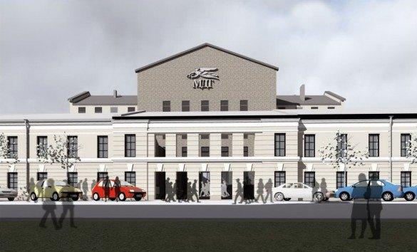 Мастерская Мамошина представила проект нового здания МДТ. Изображение № 3.