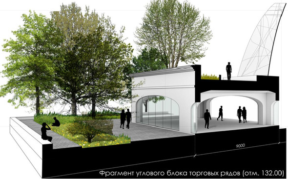 Москомархитектура выбрала 118 проектов парка в Зарядье. Изображение № 17.