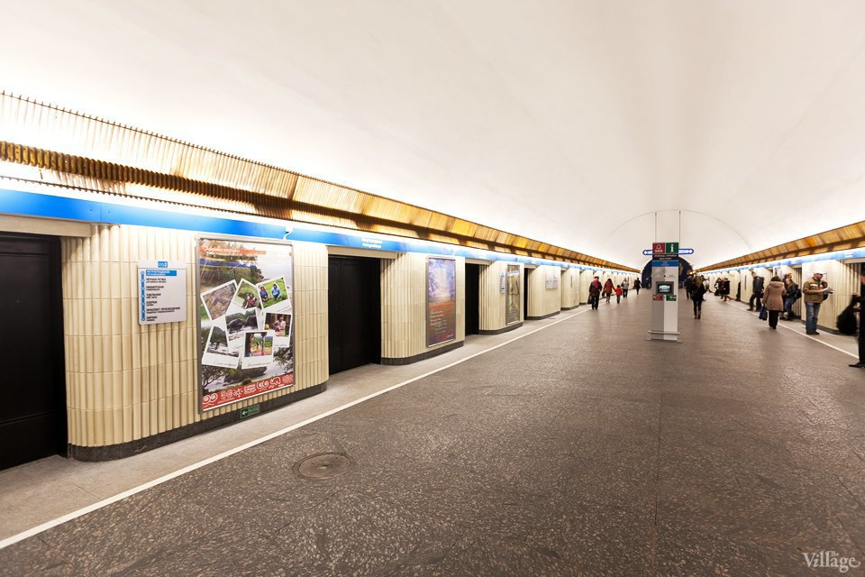 Фото дня: Станция метро «Петроградская» после ремонта. Изображение № 3.