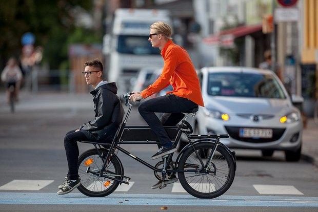 Автор Cycle Chic— одевушках, детях иполитиках навелосипедах. Изображение № 7.