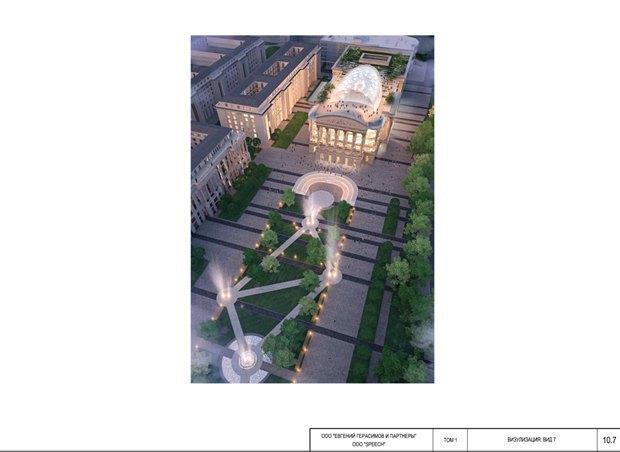 СМИ опубликовали часть нового проекта судебного квартала наПетроградской стороне. Изображение № 6.