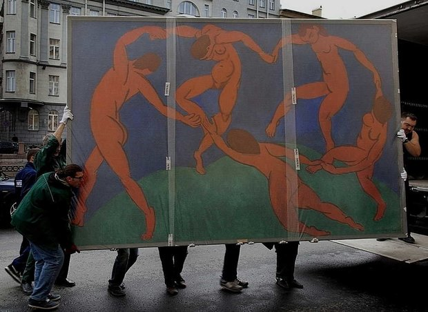 Картины Матисса перевезли из Эрмитажа в Главный штаб. Изображение № 3.