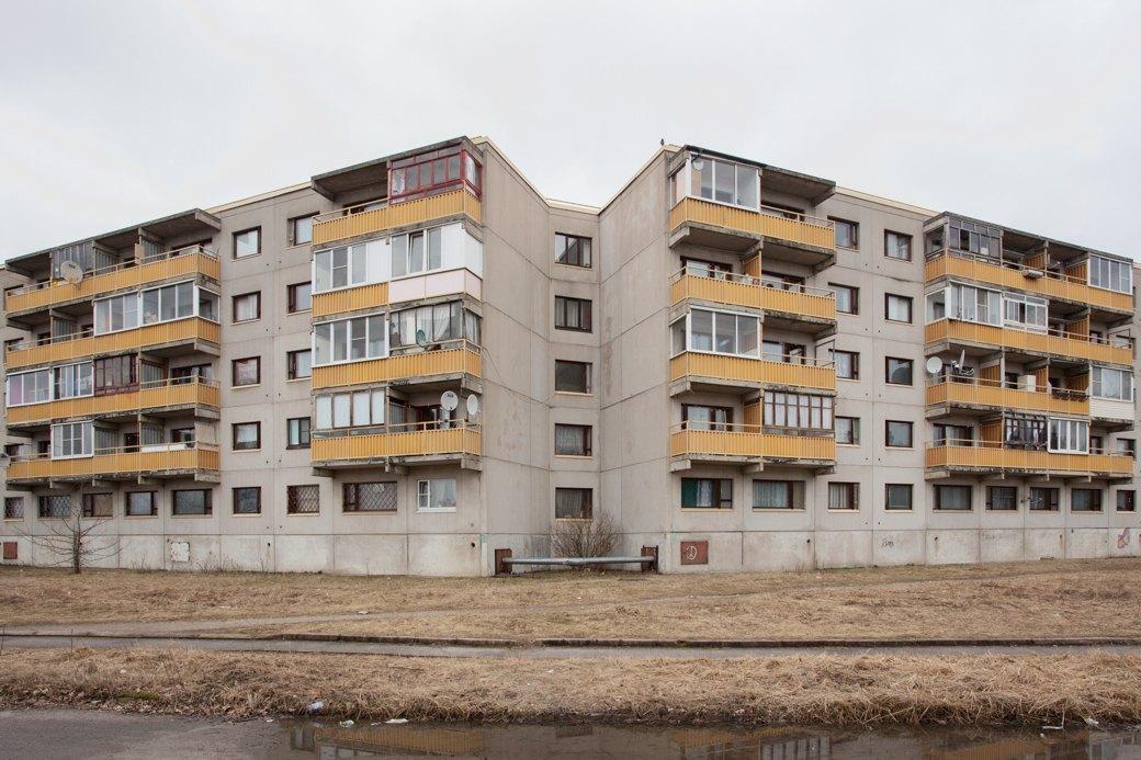 Квартал блочных финских домов в Светогорске (построены в советский период). Изображение № 23.