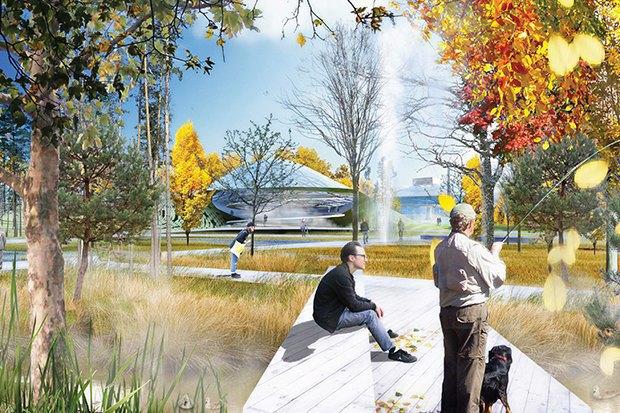 На территории будущего парка «Зарядье» появится интерактивный павильон. Изображение № 12.
