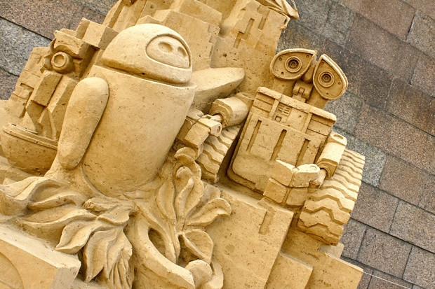 На пляже Петропавловки в выходные начнут строить песчаные скульптуры . Изображение № 3.