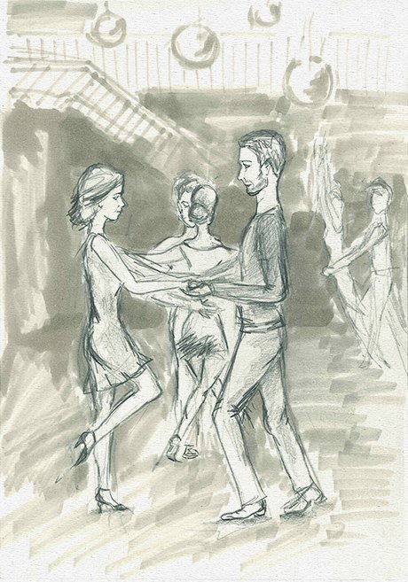 Вечеринка танцев хастл. Изображение № 3.