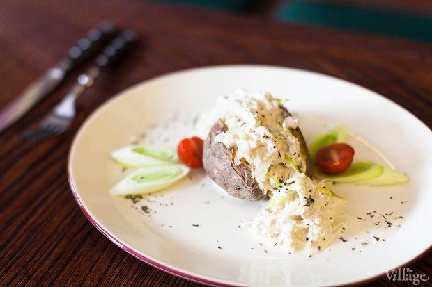 Гентский ватерзои с печённым в морской соли картофелем — 320 рублей. Изображение № 16.
