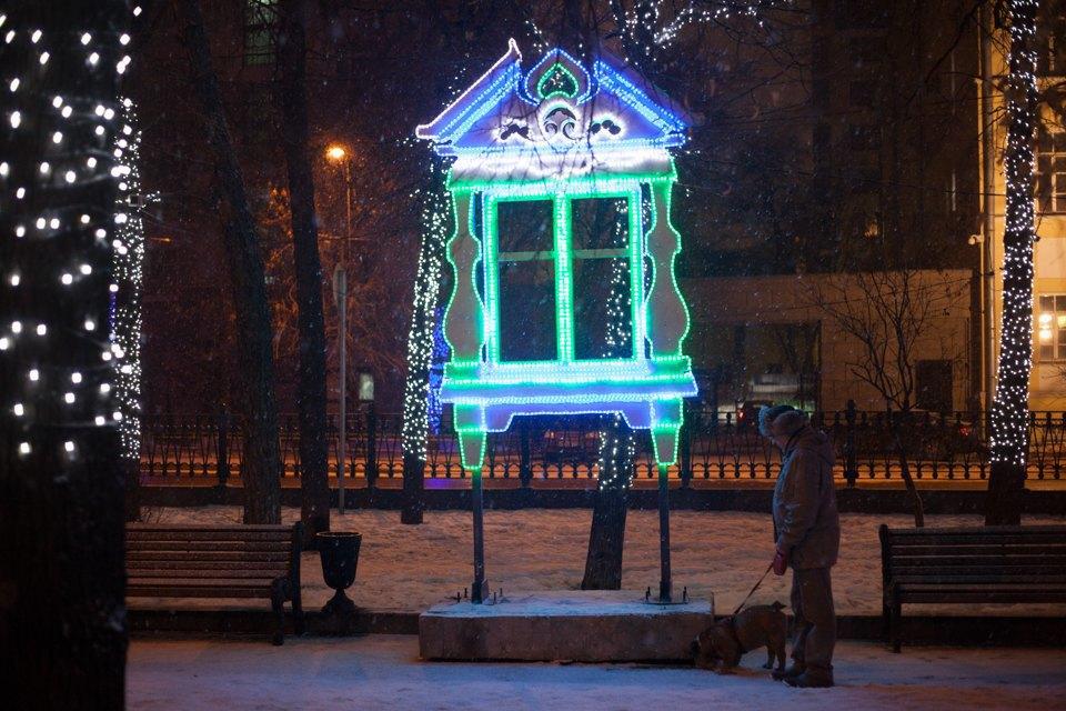 Как украсили Москву кНовому году. Изображение № 24.
