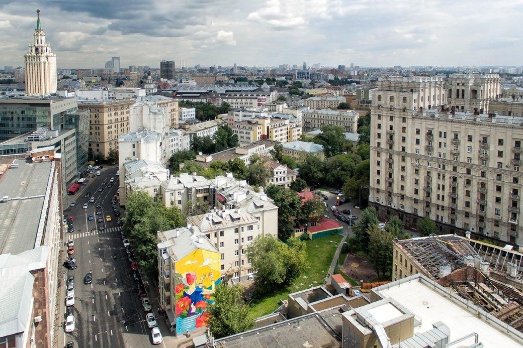 Лучшие московские граффити свысоты птичьего полёта. Изображение № 9.